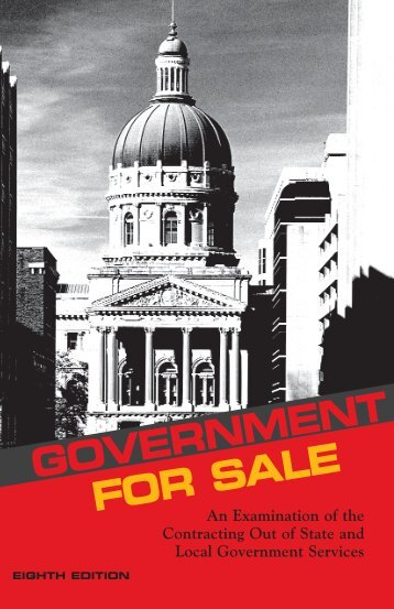 Government for Sale: An Examination of the Contracting ... - AFSCME
