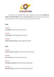 Tercer concurso de cuento y poesía para niños
