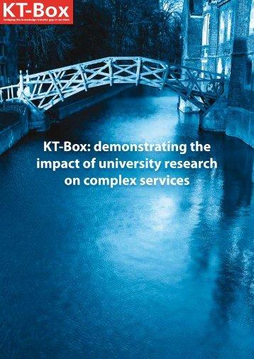KT-Box case studies - Cambridge Service Alliance