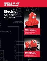 Triac FailSafe Electric Actuator - PEC-KC.com