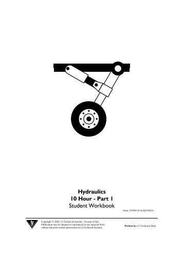 Hydraulics 10 Hour - Part 1 Student Workbook