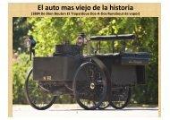 EL AUTO MAS VIEJO DE LA HISTORIA Y AÚN ... - Wikiblues.net