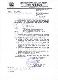 Dinas Pendidikan Provinsi Jawa Tengah