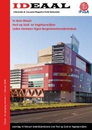 ideaal 2008 1 febrauri.pdf - PvdA Rotterdam