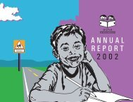 ANNUAL REPORT 2002 - Asha for Education