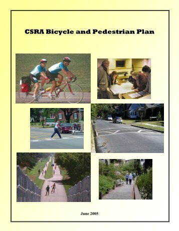 CSRA Bicycle and Pedestrian Plan - the GDOT