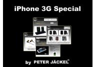 iPhone 3G Special - Peter Jäckel
