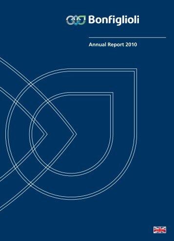 Annual Report 2010 Download pdf - Bonfiglioli