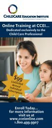 CDA Banner Front Comp 060806 - Online Child Care Training