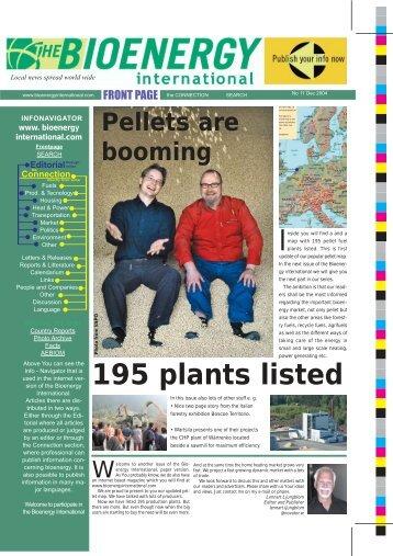 Pellets are - Novator