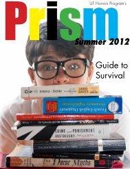 Issue 2, Summer 2012 - University of Florida Honors Program