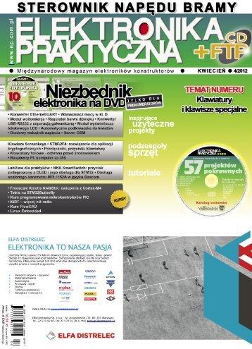 Elektronika Praktyczna, kwiecień 2012 - UlubionyKiosk