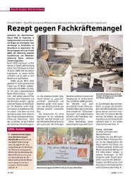 Baden-Württemberg-Seiten in metall Ausgabe Oktober 2002