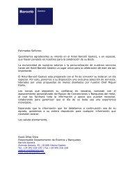 Estimados Señores: - Barcelo.com