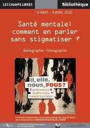 Santé mentale - Bibliothèque de Rennes Métropole