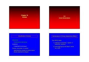 Ch18 Amines(pdf) - KFUPM Open Courseware
