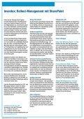 Cockpit für erfolgreiche Rolloutprojekte: Inventox - Computacenter - Page 2