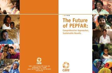 2008 – CARE – The Future of PEPFAR - Basic Education Coalition