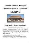 Nytår i Beijing 2004, 2005 og 2006 Læs her om vore ... - Smedebøl.dk - Page 3