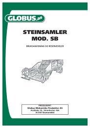 Globus Steinplukker mod- SB - NOA Maskin AS