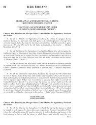 84 DÁIL ÉIREANN 2579 - Houses of the Oireachtas