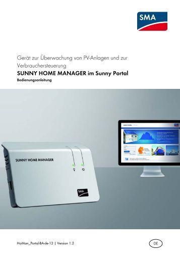sunny webbox bedienungsanleitung sma solar technology ag. Black Bedroom Furniture Sets. Home Design Ideas