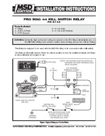 magazines from msdpromag com pro mag 44 kill switch relay wiring diagram msd pro mag com