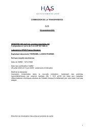 Laboratoire VIFOR France (titulaire)