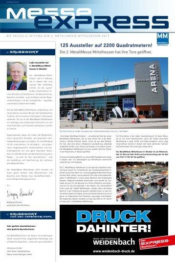 Download MESSE EXPRESS - Eichler Engelhardt Werbeagentur ...