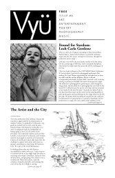 Bound for Stardom: Leah-Carla Gordone The Artist ... - Vyu Magazine