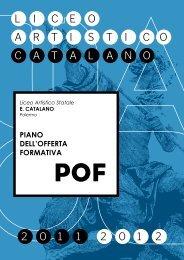 Scarica il POF in PDF - Liceo Artistico Statale Catalano