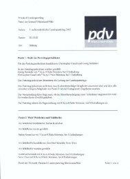 Protokoll des außerordentlichen Landesparteitags 2012 - Partei der ...