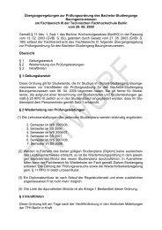 Übergangsregelungen zur Prüfungsordnung des Bachelor ...