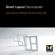 Smart Layout Decomposer - WoodWing Community Site