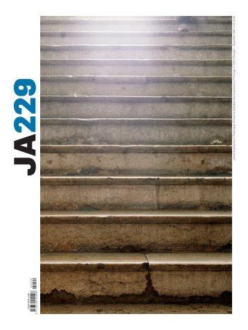 JA 229 - Ordem dos Arquitectos