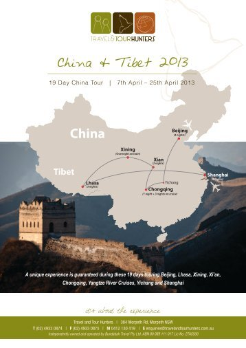 Download complete itinerary and inclusions here - Travel & Tour ...