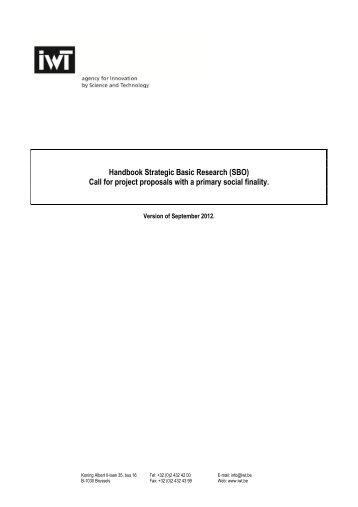 Engelse versie SBO Handleiding maatschappelijk - IWT