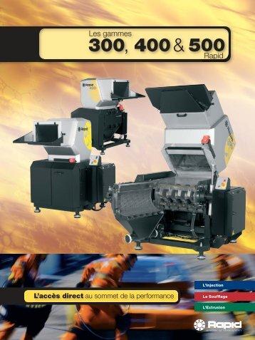 300, 400 & 500 - Rapid Granulator