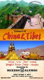Yangtze River Cruise • Shanghai - Mizzou Alumni Association