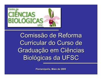 apresentação pública do relatório final da crc - Centro de Ciências ...