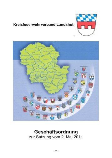Geschäftsordnung - Florian Landshut Land