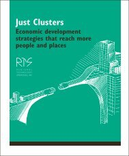 just clusters 1 Ä - Regional Technology Strategies, INC