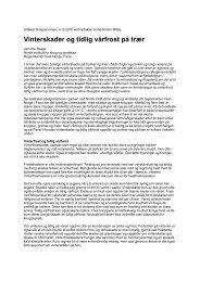 rapporter - Skog og landskap