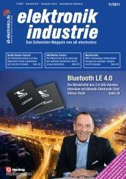 PDF-Ausgabe herunterladen (39.8 MB) - elektronik industrie