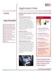 food milk powders - Insatech