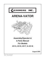 ARENA-VATOR - Gearmore, Inc.