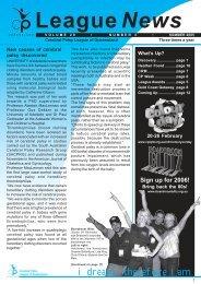 LeagueNews - Cerebral Palsy League
