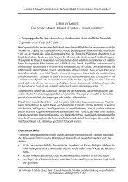 "Lernen im Kontext: Das Soester Modell ""Umwelt erkunden - Umwelt ..."