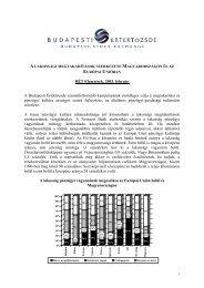A lakossági megtakarítások szerkezete Magyarországon és az ...