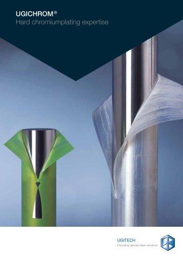 UGICHROM® Hard chromiumplating expertise - Ugitech